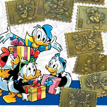 paperino formato… francobollo!