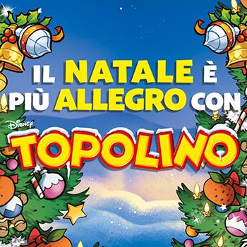 il natale è più allegro con Topolino!