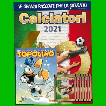 arriva l'album calciatori Panini 2020 – 21!